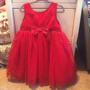 Toddler 3t red dress